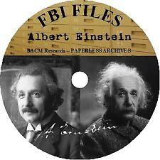 New listing Albert Einstein Fbi Files