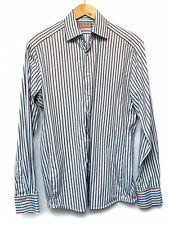 Thomas PINK LONDON Formal/Smart Shirt size 15.5, Blue, Stripped