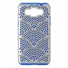 Incipio DualPro Series Case for Samsung Galaxy Grand Prime - Silver / Light Blue