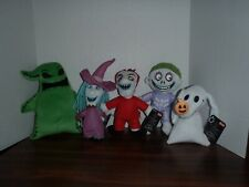 Nightmare Before Christmas Set Of 5 Plush (Oogie, Lock, Shock, and Barrel & Zero