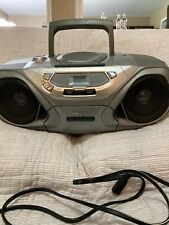 Philips AZ1030/17 CD Radio Cassette Deck Recorder Boombox W/power Cord Tested