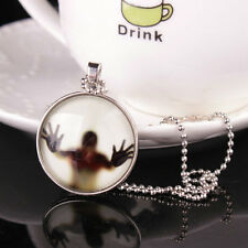 Pop Mystery WOW Gift Cabochon Pendant Necklace Chain Charm Noctilucent Jewelry
