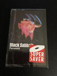 Paranoid by Black Sabbath (Cassette, Oct-1990, Warner Bros.)