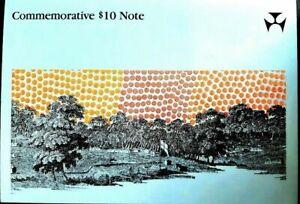 1988 Commemorative Bicentennial $10 Australian - as issued in folder