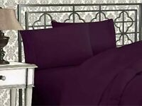 Elegant Comfort 4-Piece 1500 Thread Count Egyptian Quality Bed Sheet Set - KING