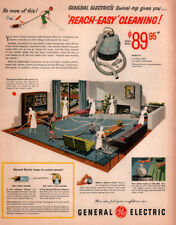 RETRO 1953 GENERAL ELECTRIC VACUUM CLEANER CANNISTER