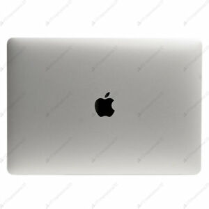 Apple Macbook Pro A1706 Silver Screen LCD Assembly Display Complete Top Part