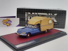 """Matrix 50304-061 # Citroen ID 19 Camper Baujahr 1973 in """" blau-gold """" 1:43 NEU"""