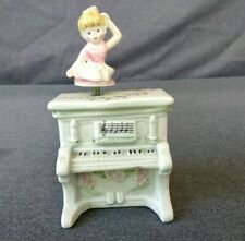 "Vintage 1983 Schmid Musical Collectible Plays ""Thank Heaven for Little Girls"""