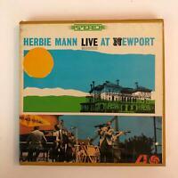 HERBIE MANN Live At Newport ALC1927 Reel To Reel 7 1/2 IPS Atlantic