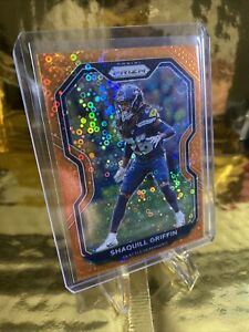 2020 Panini Prizm Shaquill Griffin Orange Disco #298