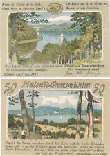 Germania 50 Pfennig 1921 NOTGELD Malente gremsmuhlen AU-UNC BANKNOTE-PRIMAVERA