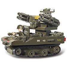 Sluban M38-B0283 Military Blocks Army Bricks Toy -Tor Anti-Aircraft Missiles