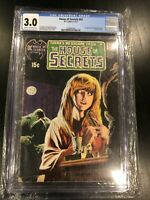 House of Secrets #92 DC Comics 1971 CGC 3.0 1st Appearance Of Swamp Thing!