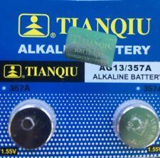 AG13 SR44 LR44 303 A76 357 1.5V Tianqiu Alkaline batteries  2 Qt.