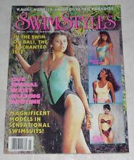 SWIMSTYLES Magazine March 1989 Hi Grade! MARIA WHITTAKER Swimwear USA