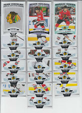 19/20 OPC Chicago Blackhawks Team Set + RC + CL - Keith Toews Seabrook Kane +
