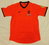 2000 Netherlands retro vintage classic soccer football team home t-shirt jersey