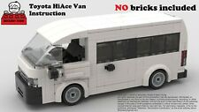 LEGO MOC #24 Toyota 5th Gen. HiAce Van Building PDF Instruction