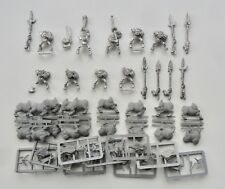 Warhammer Fantasy Metal/Plastic ORC BOAR RIDERS x9 INC COMMAND **