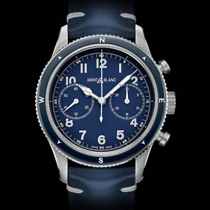 NEW MontBlanc 1858 Chronograph Automatic Watch - 42mm - RRP £3800