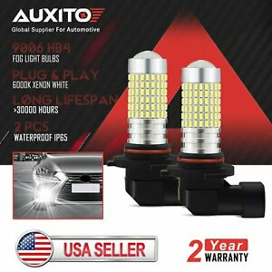 AUXITO 9006 HB4 LED Fog Light Bulbs 6000K for Toyota Tundra 2000 2002 2004 2006