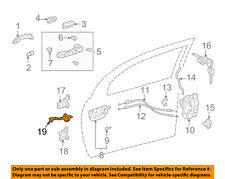 Pontiac GM OEM 03-08 Vibe Front Door-Hinge Check Left 88973010