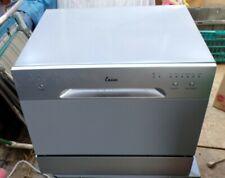 New ListingEnsue 99831 Countertop Portable Dishwasher - Silver Out Of Box Estate Sale