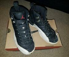 Air Jordan 12 XII OG 'Playoff' Black/Red-White-Silver '97 Sz 6 yth