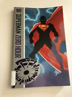 Superman Zero Hour TPB dc comics graphic novel ex library copy used