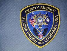 St. John Parish Deputy Sheriff Patch