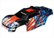 Traxxas E-Revo 2.0 VXL Orange / Blue Clipless Body - New Genuine Parts