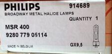 Philips Broadway metal Halide lamps MSR 400 gy9, 5 OVP 914689