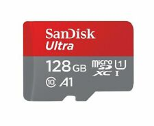 SanDisk 128GB with Adapte micro SD SDXC Card 100MB/s Ultra  Class 10 UHS-1 A1