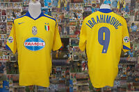maglia calcio shirt maillot camiseta trikot JUVENTUS IBRAHIMOVIC TG XL
