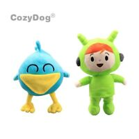 2pcs Pocoyo Plush Toys Nina & Sleepy Bird Plushies Stuffed Animal Doll Kds Gift