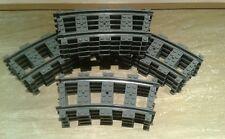 LEGO® City Eisenbahn 16 gebogene RC Schienen Kurven 4279717 bricktrain railway
