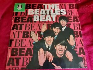 THE BEATLES BEAT 1969 GERMAN PRESS VINYL ALBUM
