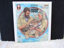 CED VideoDisc Born Free (1965) Winner of an Academy Award, Columbia Pictures
