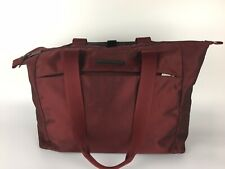 """Briggs & Riley Transcend Carry on Tote TM201-12 Red Travelware Bag 16.5"""""""