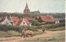 PC29844 Old Postcard. Village. Joh. Gerstenhauer. W. de Haan