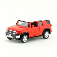 1/43 Scale Toyota FJ Cruiser Off-road Model Car Diecast Kids Toy Vehicle Red