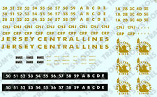 2-16 O Scale Jersey Central Lines F-3 A and B Units