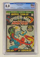 MARVEL TEAM-UP #1 Marvel Comics 1972 CGC 8.0 Spider-Man Team-ups Begin