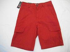 Chaps Men's Cargo Red Shorts - Size 30 Waist (retail $59.50)