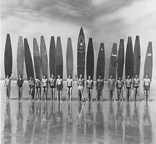 antique vintage Surf Photo Sufing beach  black white grey Canvas