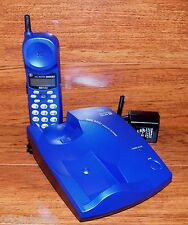 Atlinks *Blue* Cordless 900MHz Telephone (26930GE4-M) Call Waiting & Caller I.D.