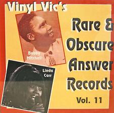 VINYL VIC'S 'Rare & Obscure Answer Records' - Vol# 11 - 31 VA Tracks