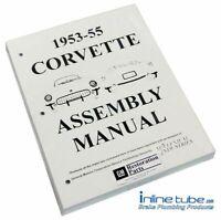 1953-55 Chevrolet Corvette  Factory Assembly Rebuild Instruction Manual Book