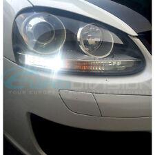 Volkswagen Golf MKV Day Running Lights Premium White Error Free LED Bulbs GTI R3